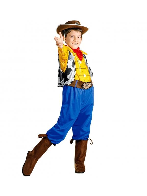 Déguisement Billy le Kid garçon (chemise, gilet, pantalon, ceinture, sur-bottes, bandana)
